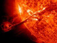 На Солнце произошла новая сильнейшая вспышка