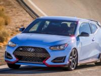 Hyundai представил в Детройте Veloster N