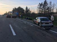 Под Минском столкнулись четыре автомобиля