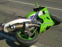 В Глубокском районе разбился мотоциклист без прав и шлема