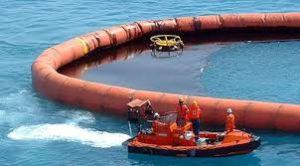 Боновые заграждения от розливов нефти